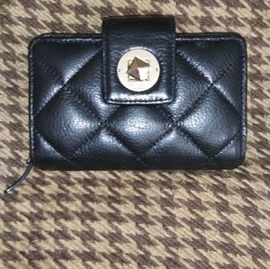 Kate Spade Quilted Turnlock Small Wallet